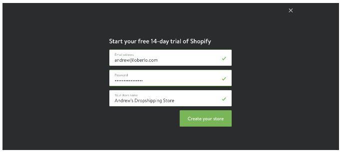 e-shop shopify